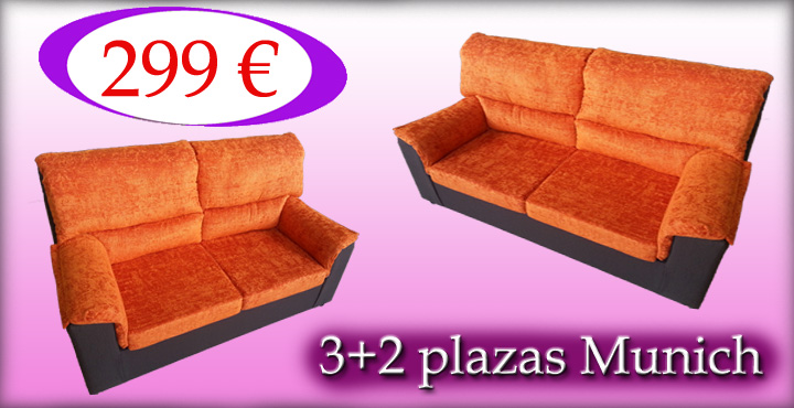 Sofa 3+2 plazas munich